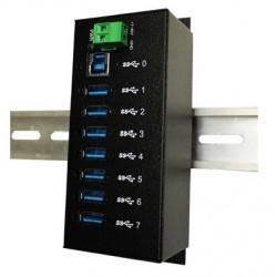 7 ports Industriel USB3 HUB...