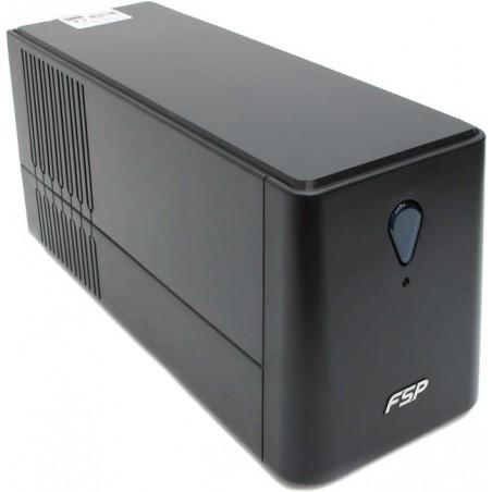 850VA 480W UPS, nødstrømforsyning, 230VAC, inkl. batteri