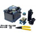 Transportabel fusion splicer - fiber splejser - Fiber skærer, single fiber til kvalitetskontrol. Fuldautomatisk drift