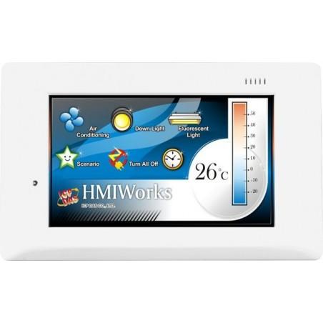 """HMI panel med indbygget 4.3""""TFT skærm"""