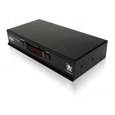 4 ports ADDERView PRO omskifter, DVI, USB