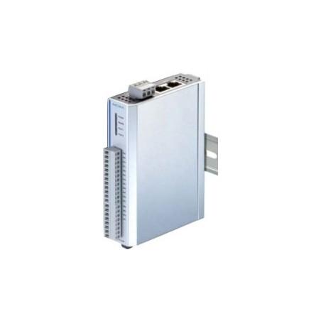 I/O-modul med 6 digitale input og 6 relæer, MODBUS