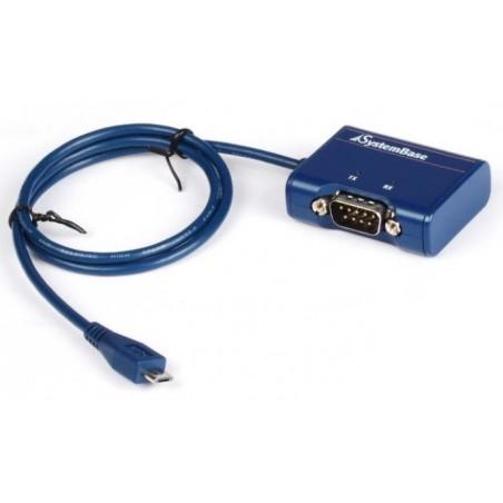 USB til 1 x RS232, COM port til Android Tablet / phone