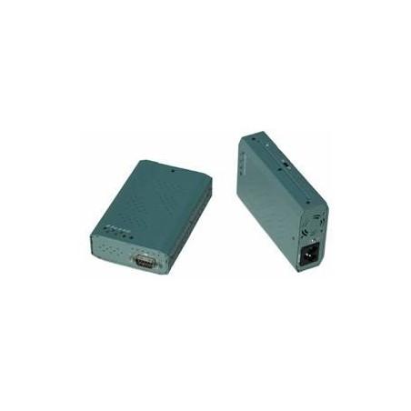 Restlager RS232 serielport via 230 VAC el-nettet