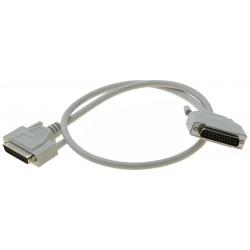 SUB-D DB25 han-han kabel,...