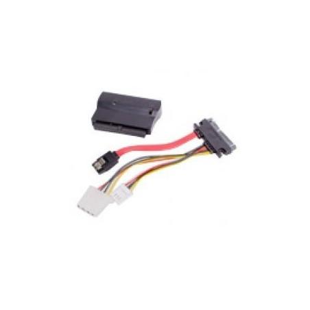 """konverter 40 pin IDE 3½"""" interface fra bundkort til SATA interface, master og slave valg"""