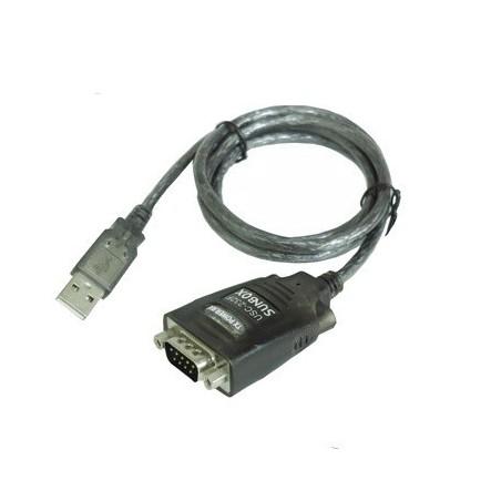USB til 1 x RS232 adapter med 1,8 m kabel