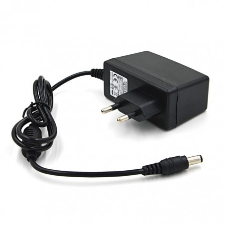 EU power adapter DC12V 2A 5.2 x 2,1 mm