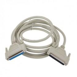 SUB-D DB37 han-han kabel,...