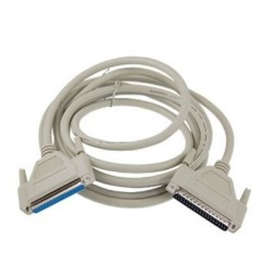 SUB-D DB37 han-hun kabel,...
