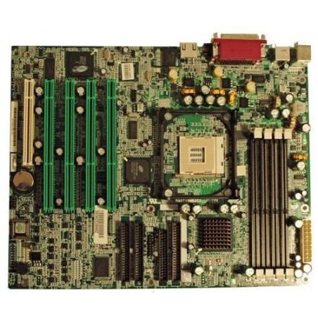 ATX bundkort med 4 x 64bit PCI slot, Pentium4. Sokkel 478, specielle RAM