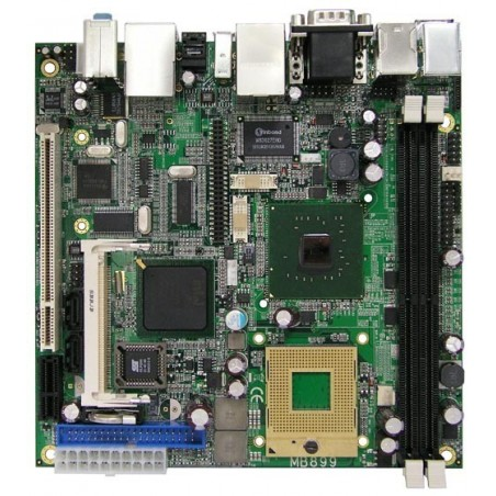 Restsalg: ITX BK, core duo, CF, 1 PCI