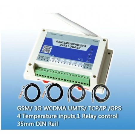 Restsalg: GSM/GPRS/GPS temp. overvågning