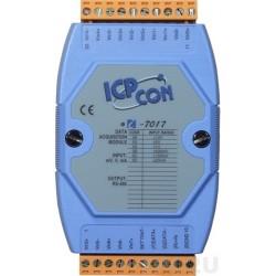 8 x analoge indgange, maks. +/-10 volt, 16bit, RS 485