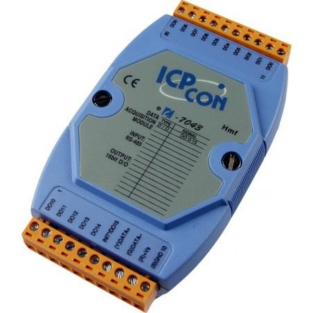 Modul m/16 digitale udgange via serie kommunikation (RS485)
