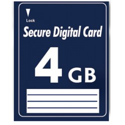 4GB SD Secure Digital...