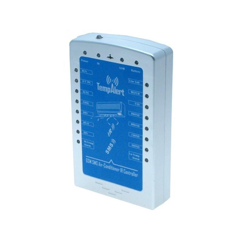 GSM enhed til styring af aircondition og varmepumpe via IR kommunikation