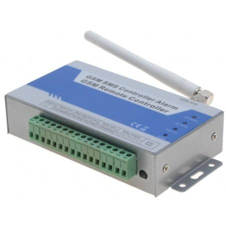 GSM alarm controller til måling og styring, med backup batteri