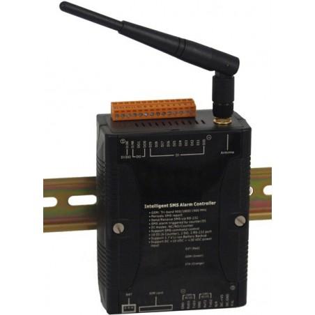 GSM alarm – 10 digitale indgange, 2 digitale udgange, med RS232 port, 2-vejs SMS beskeder