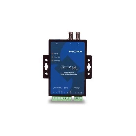 RS232/422/485 til Multi Mode fiber konverter, ST stik, MOXA TCF-142-M-ST