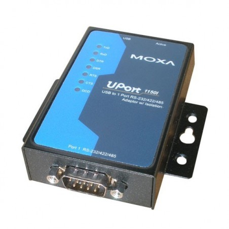 USB til 1 x RS232/422/485 adapter, MOXA UPORT 1150I