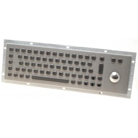 Restlager: Industri keyboard med trackball IP65
