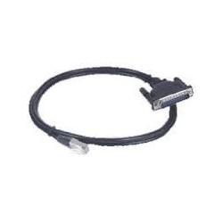 RJ45 kabel til 8 x DB25...