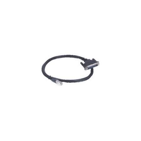 RJ45 kabel til 8 x DB25 hun, 1,5 meter CBL-RJ45F25-150