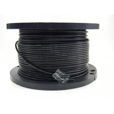 Løst RG59 kabel på rulle, sort, 75 ohm