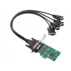 4 Ports PCIe kort med DB9M...