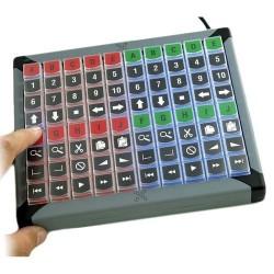 USB tastatur med 80...