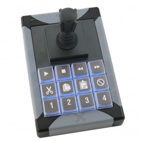 12 programmerbare taster med joystick til USB