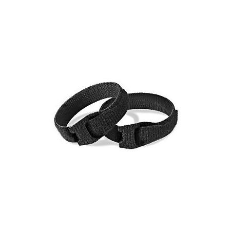 Velcro kabel strips, kabelbinder, burrebånd, 13 x 155 mm, sort