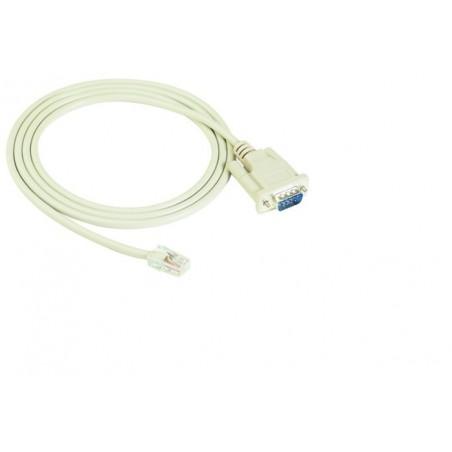 MOXA CN20060 Seriel kabel RJ45 (10 pin) til DB9 han med DTE, 1,5 meter