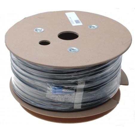 Fiber optisk kabel med fleksibel armering af rustfrit stål - singlemode SC, 360 meter