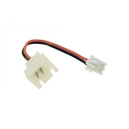3 pin til 2 pin D blæser adapter kabel, 5 cm