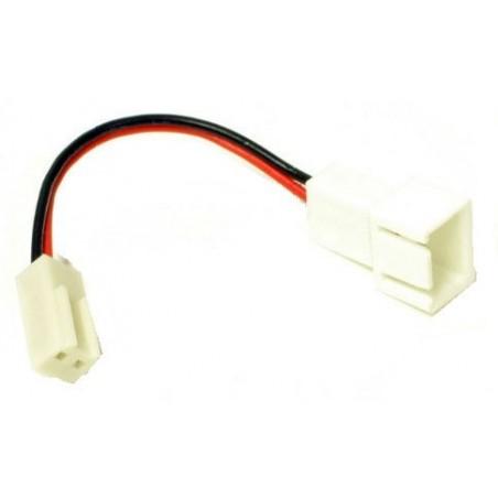 3 pin til 2 pin C blæser adapter kabel, 5 cm