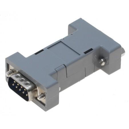 SUB-D Adapter, special type - DB9 han til DB15HDF hun