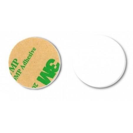 RFID NFC tag 32mm diameter, hvid