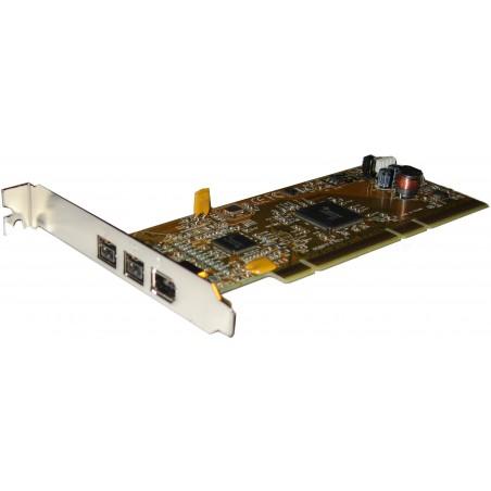 FireWire interface - IEEE 1394b - 64-bit PCI - CI-6500TF8