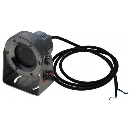 Analogt EX (EXd II CT6, T6) eksplosionssikkert kamera IP68, Composite video Stål housing