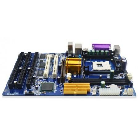 Bundkort med LGA478 og 3 x ISA DOS, WIN NT SUPPORT