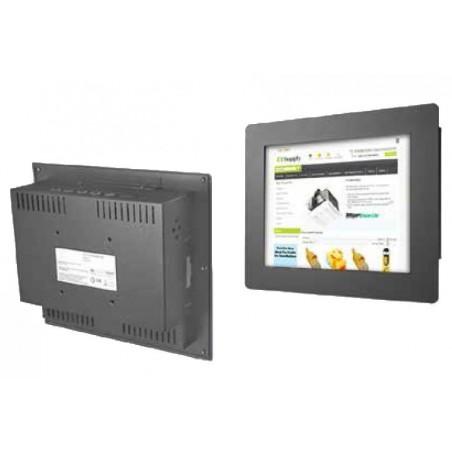 "12"" IP65-tæt monitor, transflektiv, sort"