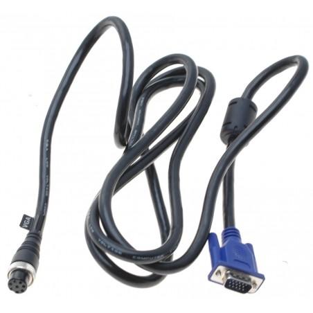 """VGA kabel til MON19""""TFT-T-IP65 monitoren, 2 m"""