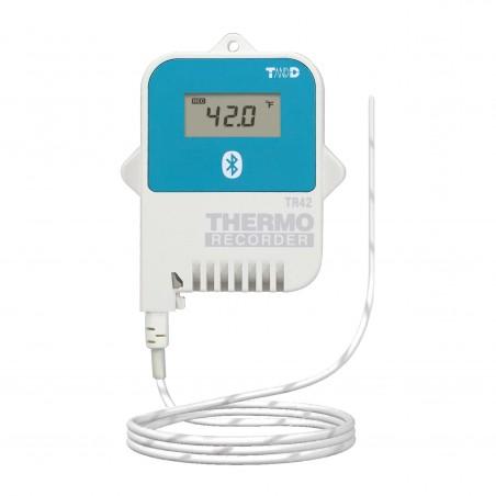 T&D Temperaturlogger med Bluetooth og ekstern føler