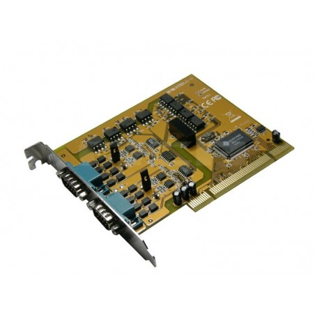 2 x RS422/485, optoisoleret, PCI DOS, WIN 98, WIN, NT support