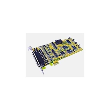 Sunix 8459SI 4 x RS422/485 serieporte, PCI Express, opisoleret