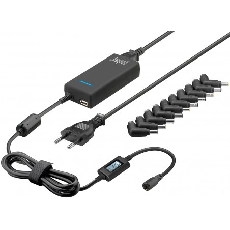 Universal AC/DC adapter, notebook power supply, 90W