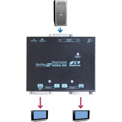 VSDDA-102, DVI-DL (Dual-Link) Video Splitter