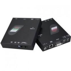 NXDU-M220, DVI + USB + Serial Extender over Giga LAN
